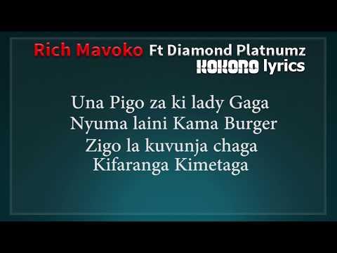 Xxx Mp4 Rich Mavoko Ft Diamond Platnumz Kokoro Lyrics 3gp Sex