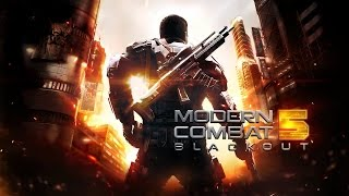 Modern Combat 5 (by Gameloft) iPod Touch 6 Gameplay Trailer - Campaign and Multiplayer