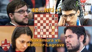 Titled Tuesday Blitz Chess Tournament: Nakamura Duels Vachier-Lagrave
