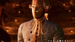The Council Episode 1 - The Mad Ones All Cutscenes (Game Movie) 1080p 60FPS