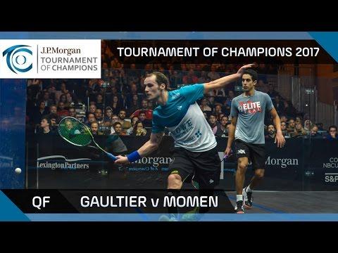 Squash: Gaultier v Momen - Tournament