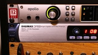 DIGIMAX DP88 is the perfect match for Universal Audio Apollo