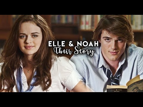 Noah Elle Their Story The Kissing Booth