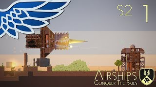 AIRSHIPS | Imperial Difficulty Part 1 - Airships Conquer The Skies S2 Let