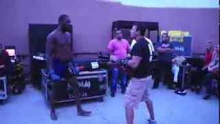 Jean Carrillo Muay Thai Boxing & MMA from Santa Ana, Ca training Jon Jones UFC