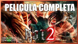 Attack on Titan 2 [A.o.T. 2] - Pelicula Completa en Español (Full Movie All Cutscenes)
