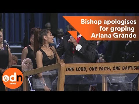 Xxx Mp4 Bishop Apologises For Groping Ariana Grande 3gp Sex