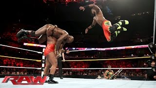 The Prime Time Players vs. The New Day - WWE Tag Team Championship Match: Raw, Sept. 14, 2015