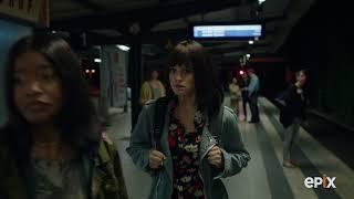 Berlin Station Season 2: Ep 208 April and Lena in Subway I EPIX