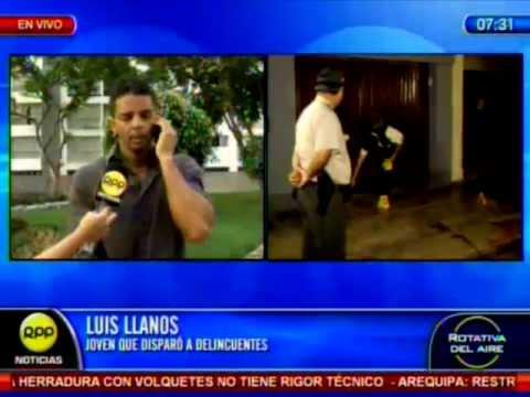 Empresario que mató a delincuentes en Miraflores teme por represalias