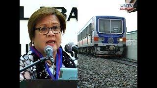 PNR fare hike, dapat maging makatuwiran — Sen. Leila De Lima