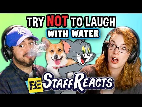 Try to Watch This Without Laughing or Grinning WITH WATER 3 ft. FBE STAFF