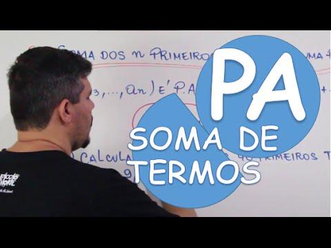 Xxx Mp4 P A PROGRESSÃO ARITMÉTICA SOMA DOS N PRIMEIROS TERMOS 3gp Sex