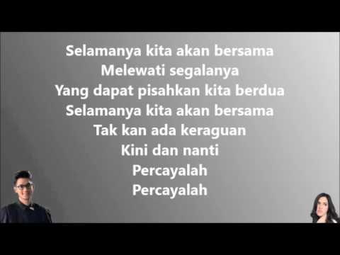 Afgan & Raisa - Percayalah (Lirik Video) mp3