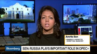 Oil Analyst Sen Says OPEC+ Buying Time, Russia Not Dictating Policy