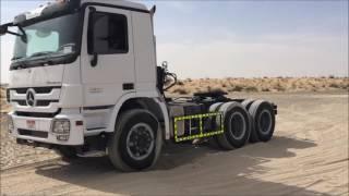 Daimler Actros Test Drive