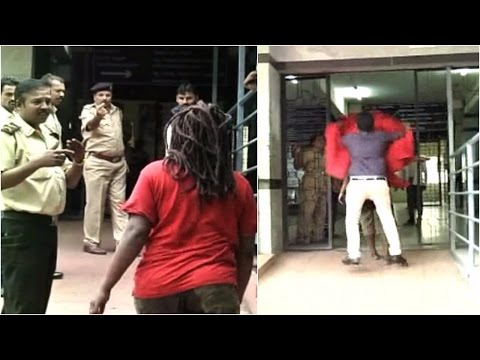 Xxx Mp4 Bengaluru Nigerian Woman Tied Up By Police After Violent Attacks 3gp Sex