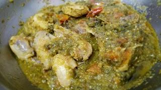 Resep Ayam masak Ijo