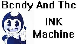 Bendy And The Ink Machine. Meu Novo jogo de terror favorito...