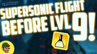 DCUO | Supersonic Flight BEFORE Level 9!