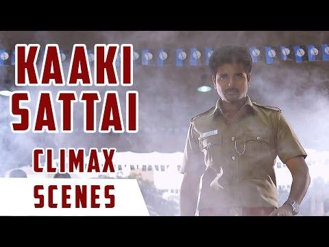 Kaaki Sattai - Climax Scene | Sivakarthikeyan | Anirudh | R. S. Durai Senthilkumar