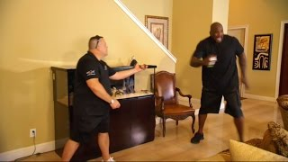 Tanked | Shaq is Afraid Of Snakes!