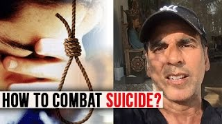 Akshay Kumar Gets EMOTIONAL On Students Committing Suicide | Akshay On How To Combat Suicide