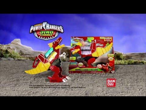 Power Rangers Dino Charge Rumble N Roar T-Rex