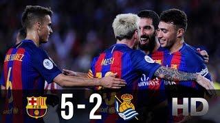 Download FC Barcelona vs Real Sociedad 5-2 - All Goals And Highlights (Copa Del Rey) 26.01.2017 HD 3Gp Mp4