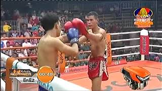 Bun Sothea, Cambodia Vs Saengsuriyak, Laos, Khmer Boxing 12 october 2018