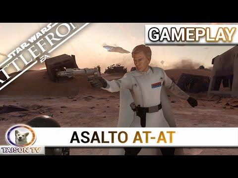 Star Wars Battlefront Gameplay en 2.0 en Asalto AT-AT