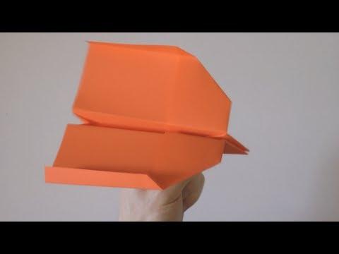 Swallow paper plane