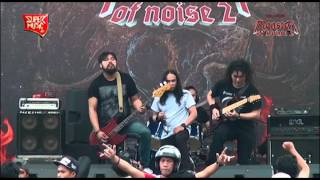 AMORA SAVAGE ( Part.1 ) Live at HELLPRINT - MONSTER OF NOISE 2