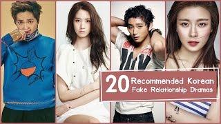 20 Recommended Korean Fake Relationship Dramas