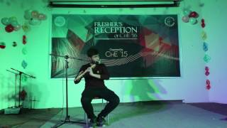 Freshers reception of ChE'16 by ChE'15-