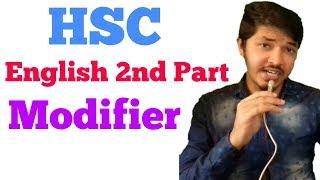 Hsc English 2nd part | Modifier | Nahid24
