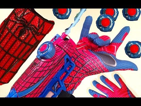 Web Shooter Toy, The Amazing Spiderman - A Funny Unboxing and Review
