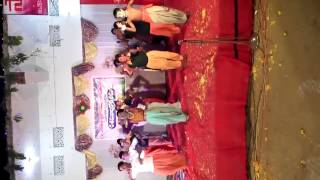 Childrens performance on Sandipani welcome song