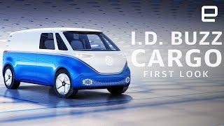 Volkswagen I.D. Buzz Cargo First Look: An EV delivery van