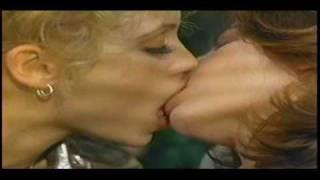 Lesbian Kiss from Showgirls