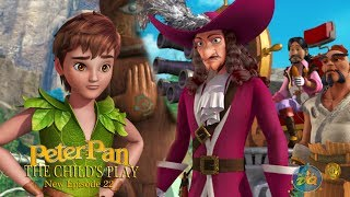 Peterpan Season 2 Episode 22 the Child's Play | Cartoon For Kids |  Video | Online