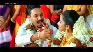 Kerala Hindu Wedding (VINEED+INDUKALA 11/07/16)***Yaarukkum Sollama Un Nenjukkulle***