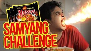 Samyang Hot Ramen Challenge - Eno Bening