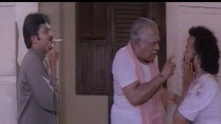 Vivek, M. S. Viswanathan Comedy - Kadhal Mannan Tamil Movie Scene - No smoking