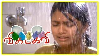 Vikadakavi Tamil movie | scenes | Kids create trouble at school and village