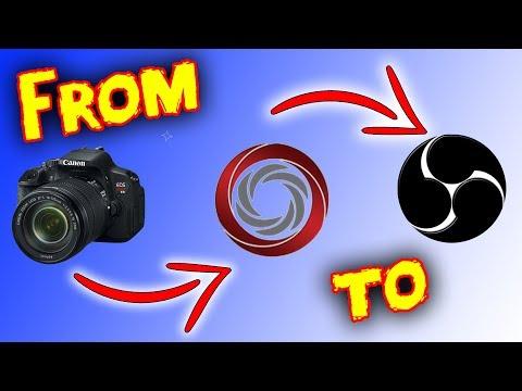 Digicamcontrol With OBS as Webcam DSLR Cameras