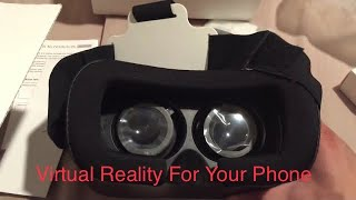 $30 VR Box 2.0 Unboxing/Review - Virtual Reality - Google Cardboard (And Oculus Comparison)