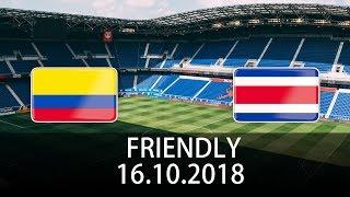 Colombia vs Costa Rica - International Friendly - PES 2019