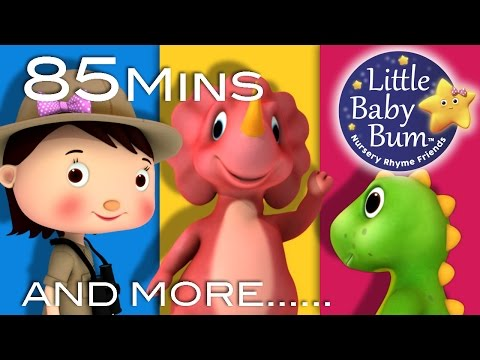 Dinosaur Song Plus Lots More Nursery Rhymes From LittleBabyBum