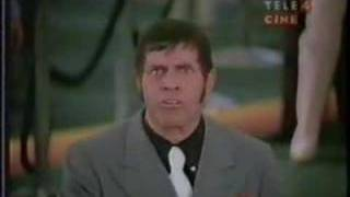 Jerry Lewis' bank heist scene